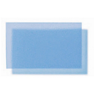 Translucent Coloured Polypropylene Matte - Ocean Blue