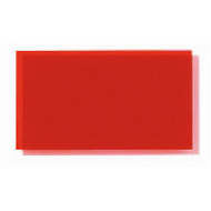 Transparent Coloured Rigid PVC - Red