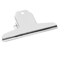 Nickel-Plated Binder Clip - Straight Grip - 150mm