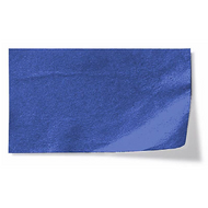 Metallic Flower Tissure Paper Pack - Metallic Blue