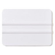 White Plastic Squeegee Type Applicator - 100mm