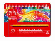 Supracolor Soft Aquarelle Pencil Assort. 30 Box Metal      3888.330