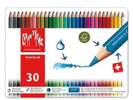 Fancolor Colour Pencils Assort. 30 Box Metal   |  1288.330