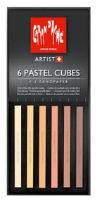 Pastel Cube Assorted Colour Set - Skin Tones | 7806.010