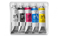 Gouache Studio 10ML Tube Assort. 5pcs. Cardboard Box   |  2003.305