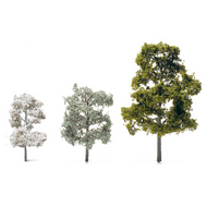 Etched Brass Deciduous Trees