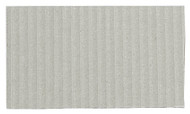 Corrugated Cardboard Strips Broad - Light Grey