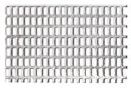 Aluminium Fine Perforated Plate - lng-hole/sq. pch (2.4/3.0-1.2/1.8) 0.5mm x 250mm x 400mm