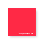 Acrylic Perspex Sheet 400mm x 800mm x 2mm - Transparent Red Iron Oxide