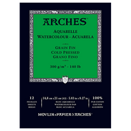 Arches Watercolour Pad Cold Pressed (Medium) 300GSM - A5