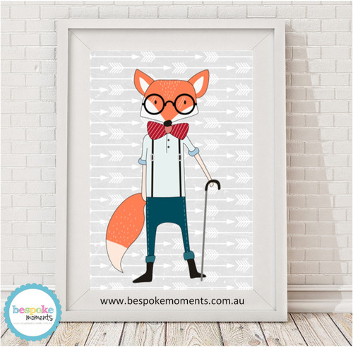 Product image of Hipster Fox Print