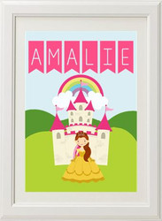 Product image of Princess Name Print