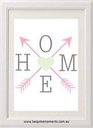 Product image of Home Arrow Print