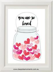 Jar Of Hearts Print