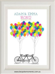 Wedding Balloons Print
