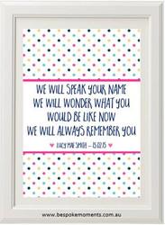 Speak Your Name Print