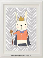 Royal Rabbit King Print