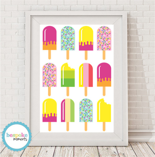 Product image of Icecream Pop Print