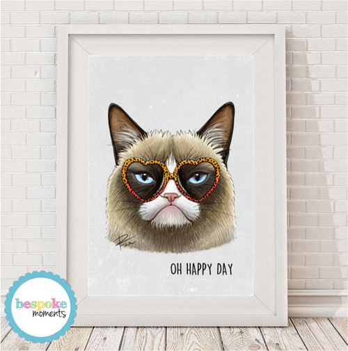Product image of Grumpy Cat Print