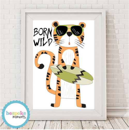 Product image of Born Wild Tiger Print