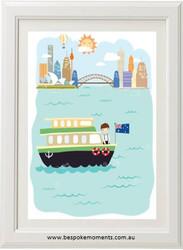 Iconic Sydney Boys' Print