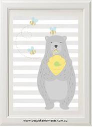 Honey Bear Print