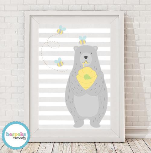 Product image of Honey Bear Print
