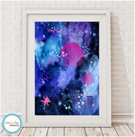 Product image of Limited Edition Cosmic Evie Print