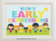 Product image of Customised Preschool/Daycare Print