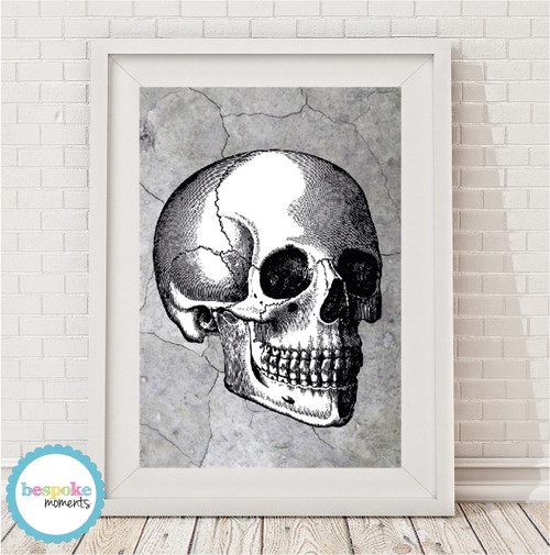 Product image of Industrial Skull Print