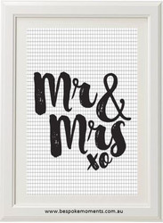 Mr & Mrs Print - Various Styles