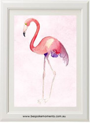 Blush Flamingo Print