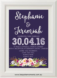 A Day To Remember Wedding Print