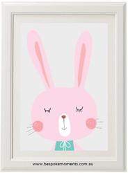 Maisie Bunny Print