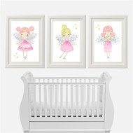 3 Pretty Fairy Print Set (3 Prints)