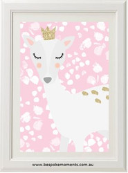 Princess Deer Print