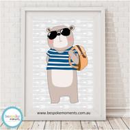 A4 - Hipster Bear