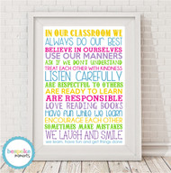 A4 - Classroom Rules