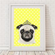 A4 -  Princess Pug