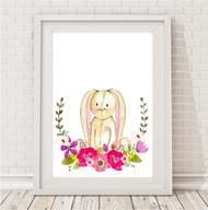 Comp Promo - Floral Bunny