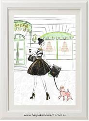 Parisian Grande Rue Print - Colour