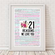 Reasons We Love You Blooms