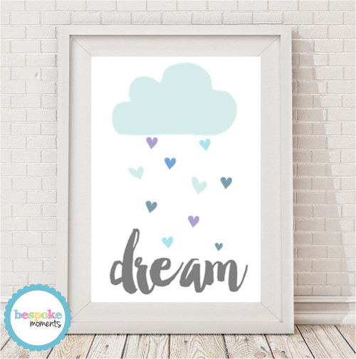 Dream Cloud Print