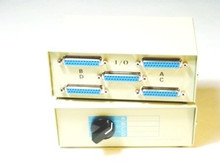 DB25 Manual Switch Box 4 Way
