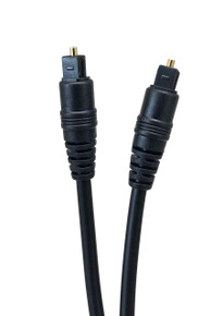 Micro Connectors, Inc. 12' TOSLINK DIGITAL OPTICAL CABLE