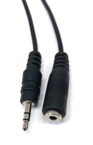 Audio 3.5mm Stereo Male/Female - 6ft