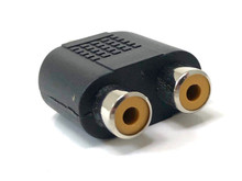 Audio Splitter RCA Male to RCA Female
