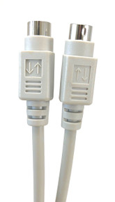 PS/2 Keyboard/Mouse Extension Cable Mini Din 6 M/F - 10ft