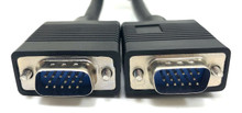 SVGA / VGA Monitor Replacement Cable HD15 M/M - 25ft Double Shielded