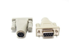 Mouse Adapter Mini Din 6 Female to DB9 Female